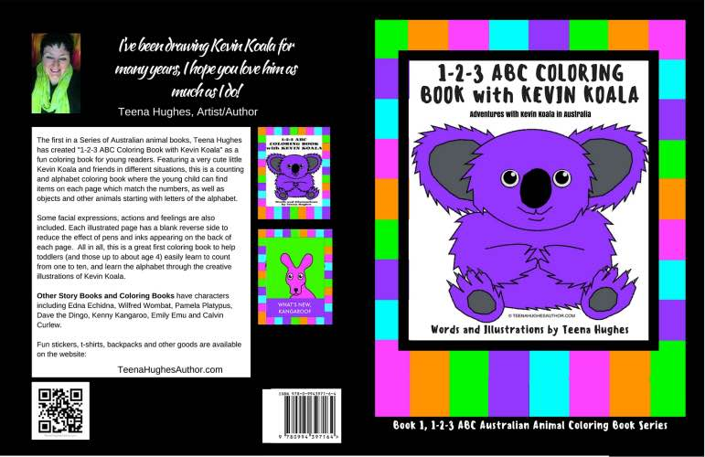 Kevin Koala Coloring Book
